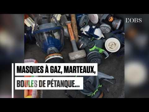 """""""Gilets jaunes"""", acte 4 : ces objets que la police a confisqué sur des péages franciliens"""