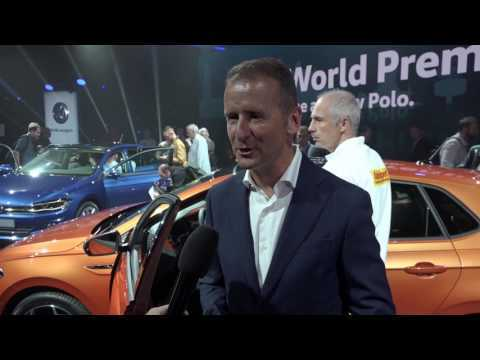Volkswagen VW Polo World Premiere in Berlin New Polo GTI Polo TGI | AutoMotoTV