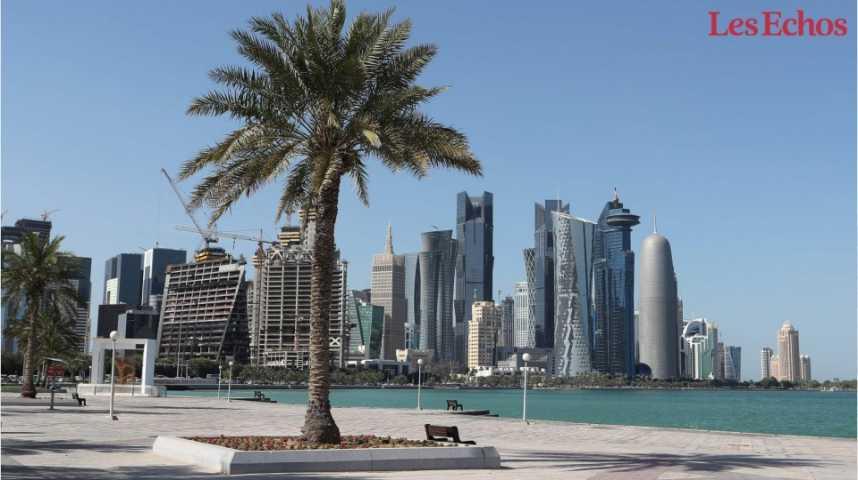 Illustration pour la vidéo Le Qatar reçoit une liste de conditions pour une sortie de crise