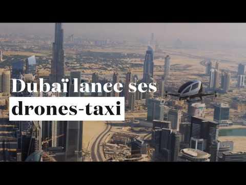 Cet été, déplacez-vous en taxi volant (et autonome) à Dubaï
