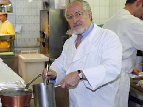 Le chef étoilé Alain Senderens est mort