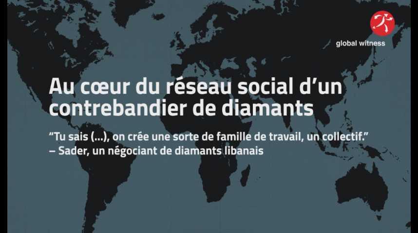 Illustration pour la vidéo Les diamants centrafricains se négocient sur les réseaux sociaux