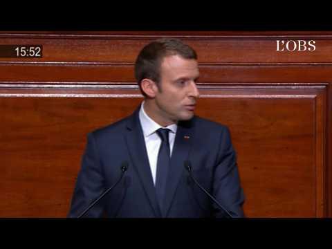 """Macron : """"Je rétablirai les libertés des Français en levant l'état d'urgence à l'automne"""""""