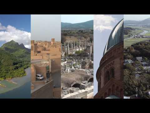 5 nouveaux sites sompteux inscrits au patrimoine mondial de l'Unesco