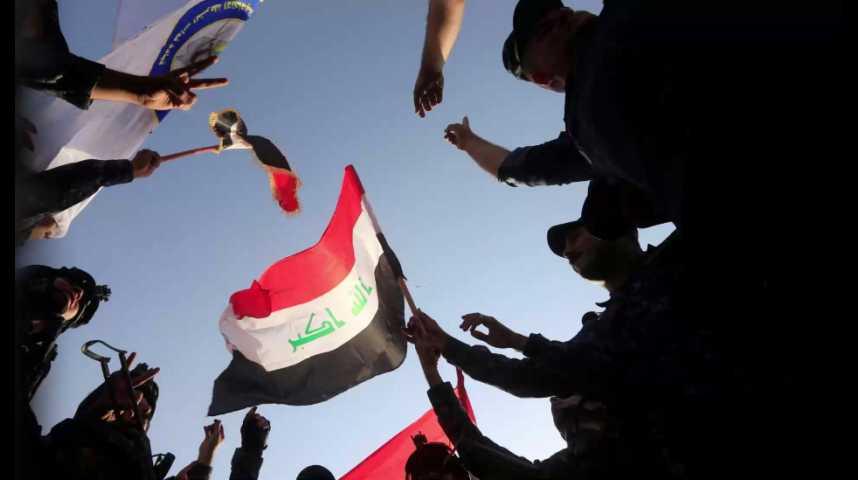 Illustration pour la vidéo L'armée irakienne reprend la ville de Mossoul à Daech