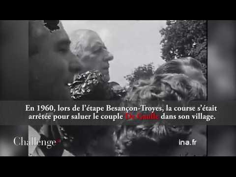 Les présidents de la République et le Tour de France