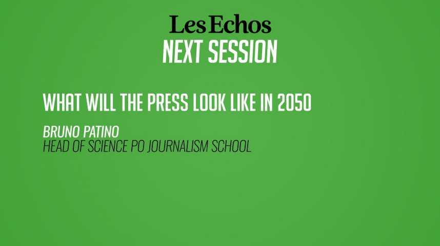 Illustration pour la vidéo A quoi ressemblera la presse en 2050 ?