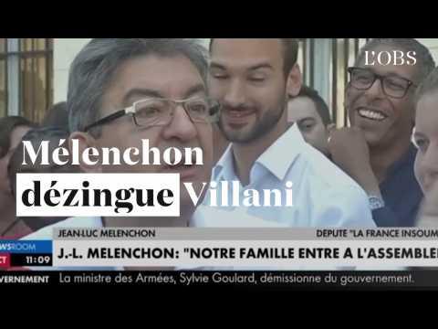 Assemblée : Mélenchon dézingue Villani
