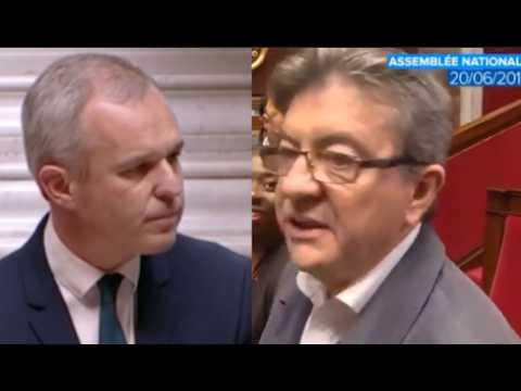 Drapeau européen : à peine élu, Rugy clashe discrètement Mélenchon