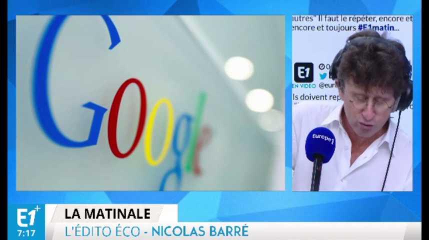 Illustration pour la vidéo Amende infligée à Google : « L'Union européenne a décidé de se défendre face à des pratiques déloyales »
