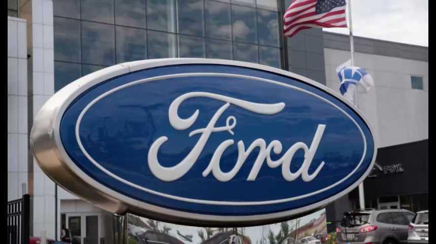 Illustration pour la vidéo Ford va vendre en Amérique des voitures made in China