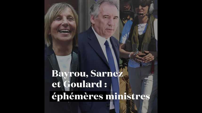 Les Français approuvent la sortie des ministres Modem du gouvernement — Sondage