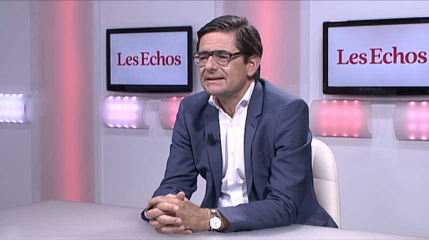 Illustration pour la vidéo «Le moral des entrepreneurs est vraiment très bon » (Nicolas Dufourcq, Bpifrance)