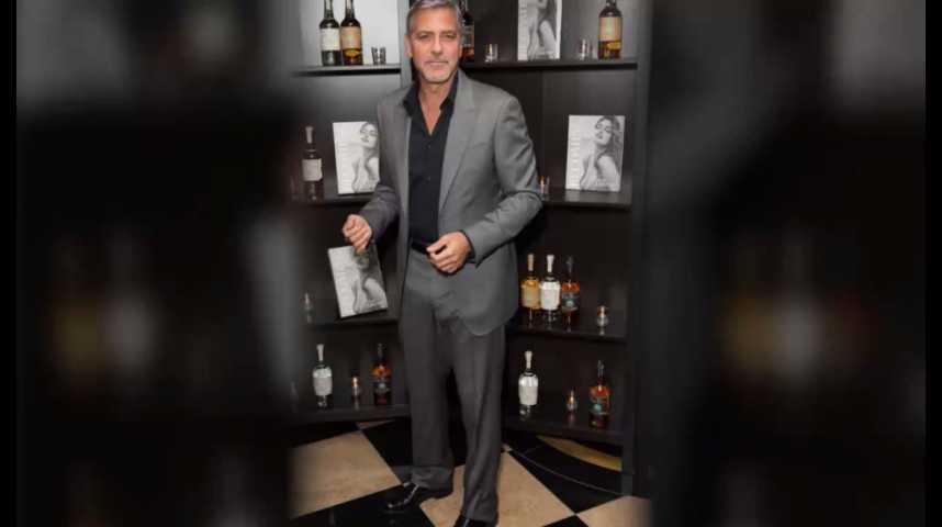 Illustration pour la vidéo George Clooney vend sa tequila à Diageo pour 1 milliard de dollars