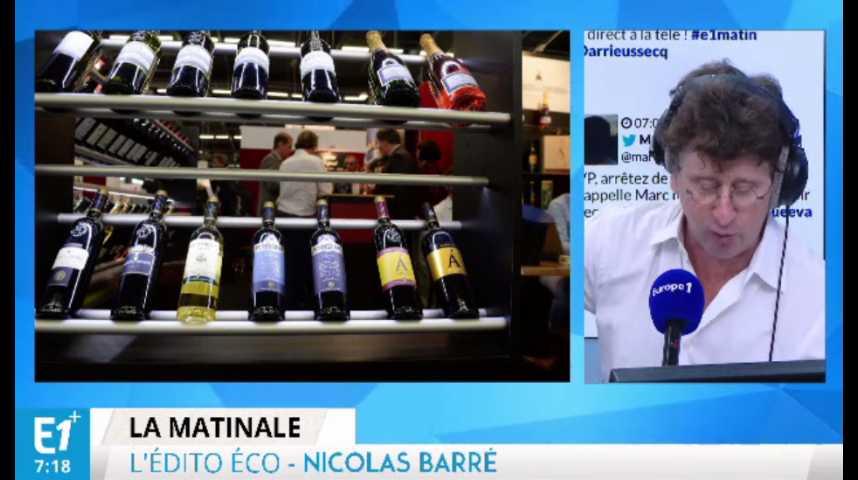 Illustration pour la vidéo Salon Vinexpo : les viticulteurs français inquiets du Brexit