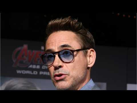 Robert Downey Jr. Shares Behind The Scenes Infinity War Pic