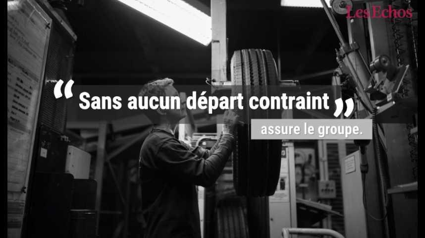 Illustration pour la vidéo Michelin va supprimer 1.500 postes en France d'ici à 2021