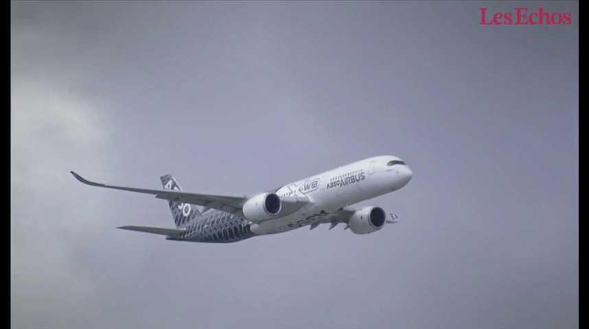 Illustration pour la vidéo Airbus décroche un méga contrat en Chine