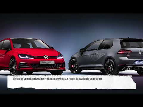 The Volkswagen Golf GTI TCR Concept - World premiere at the Wörthersee