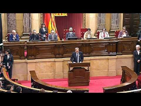 Catalan lawmakers vote on new regional separatist leader