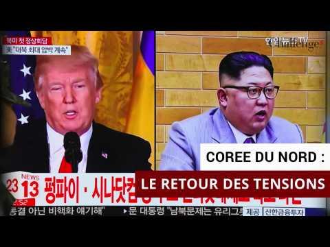 Corée du Nord: le retour des tensions