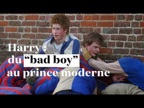 "Harry : du ""bad boy"" au prince moderne, futur mari de Meghan Markle"