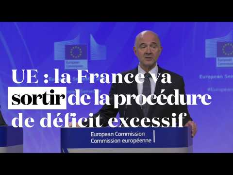 UE : la France va sortir de la procédure de déficit excessif