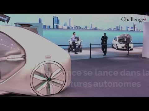 La France se lance dans la course à la voiture autonome.