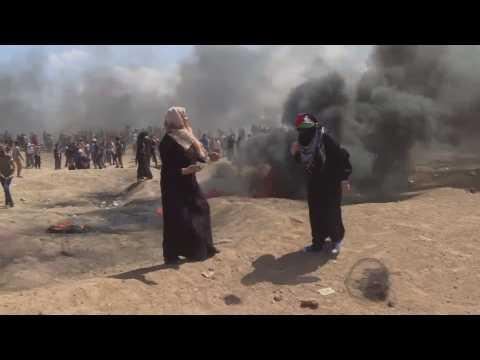 Israël : au moins 52 Palestiniens tués dans les affrontements à Gaza