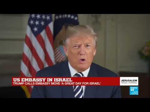US embassy in Israel: Watch Donald Trump''s speech