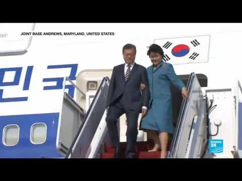 Moon Jae-In visits Washigton to save meeting between Trump and Kim Jong Un