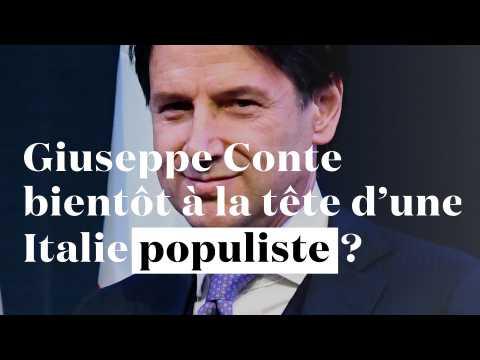 Italie : Giuseppe Conte, nouveau chef d'un gouvernement populiste ?