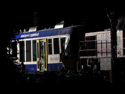 Two dead and 14 injured in Bavaria train collision