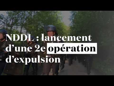 NDDL : une 2e opération d'expulsion est lancée
