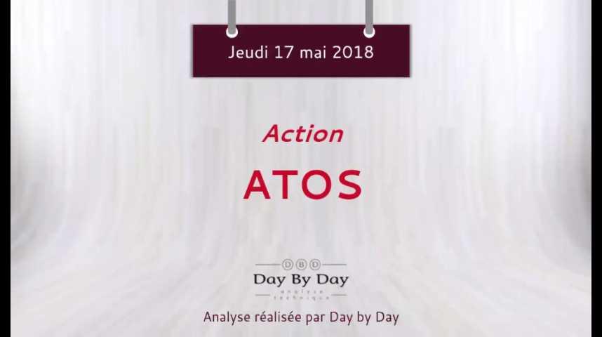Illustration pour la vidéo Action Atos : franchissement de résistance - Flash analyse IG 17.05.2018