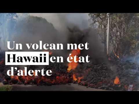 Explosion dans le cratère du volcan Kilauea : Hawaii en état d'alerte