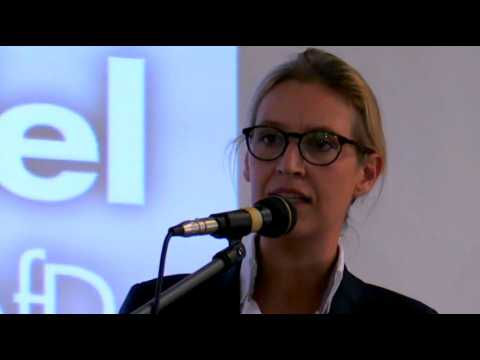 Qui est Alice Weidel, la leader des nationalistes allemands ?