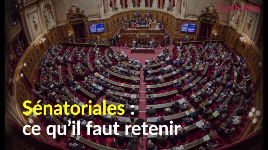 Illustration pour la vidéo Sénatoriales : ce qu'il faut retenir