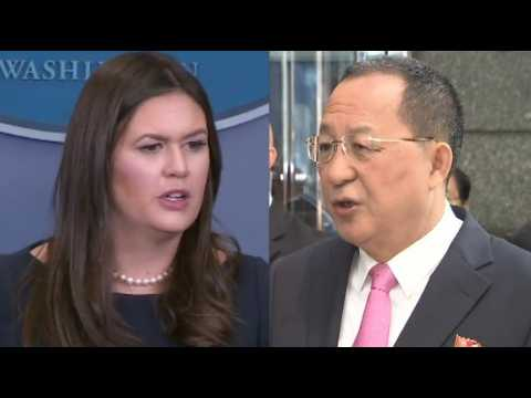 """""""Les Etats-Unis ont déclaré la guerre"""" à la Corée du Nord... Washington répond"""