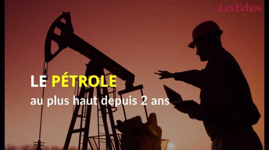 Illustration pour la vidéo Le pétrole au plus haut depuis deux ans