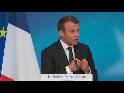 Parquet européen, académie du renseignement... les propositions de Macron sur la sécurité en europe