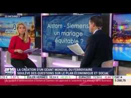 Journal After Business: Les deux géants Alstom et Siemens officialisent leur fusion dans le ferroviaire - 26/09