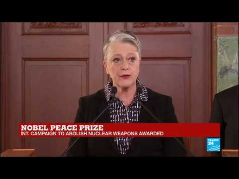 Nobel Peace Prize: International campaign to abolish nuclear weapons awarded