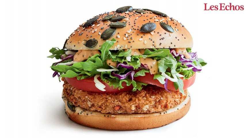 Illustration pour la vidéo McDo France lance un burger végétarien