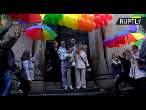 Gay Couples Tie the Knot in Hannover as Equal Marriage Law Takes Effect