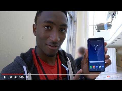 Samsung Galaxy: Screen Reviews