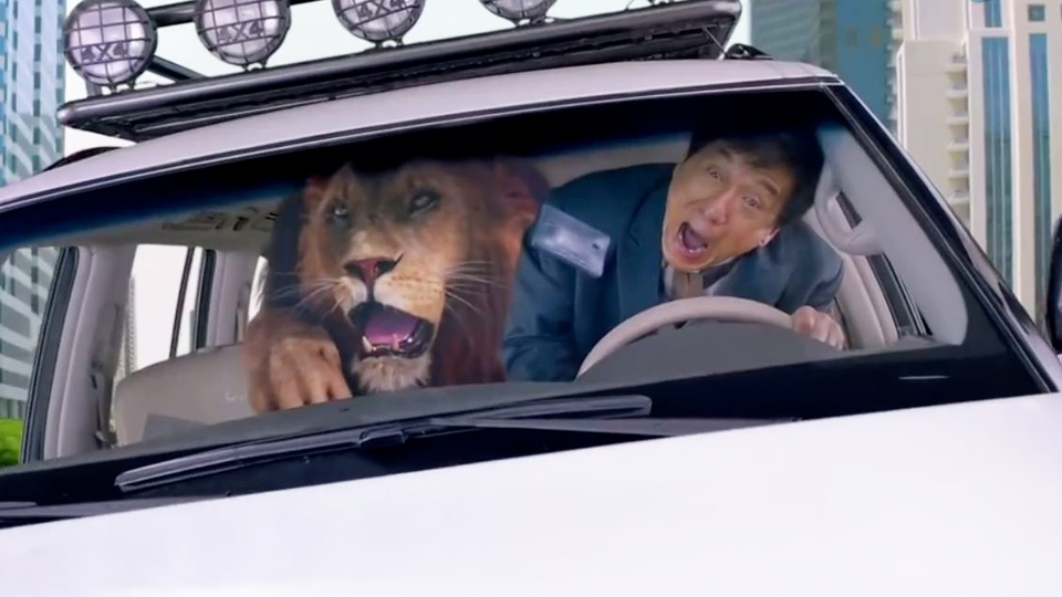 Kung Fu Yoga - bande annonce 2 - VO - (2017)