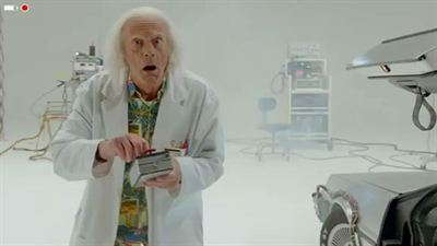 Doc Brown Saves The World - teaser - VO - (2015)