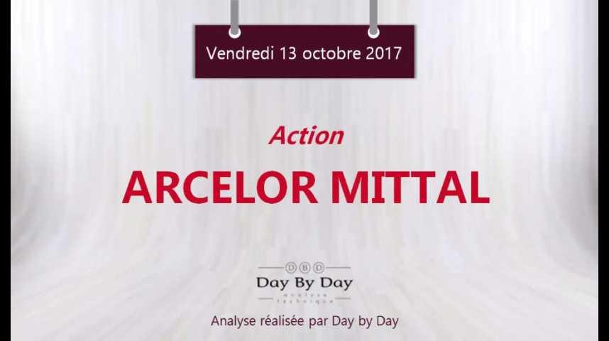 Illustration pour la vidéo Action ArcelorMittal : sortie haussière d'un rectangle - Flash analyse IG 13.10.2017
