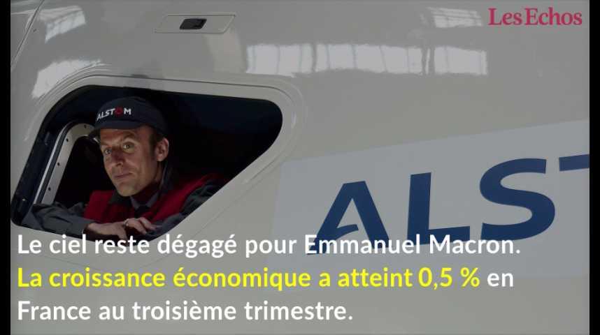Illustration pour la vidéo France : la croissance reste robuste au troisième trimestre